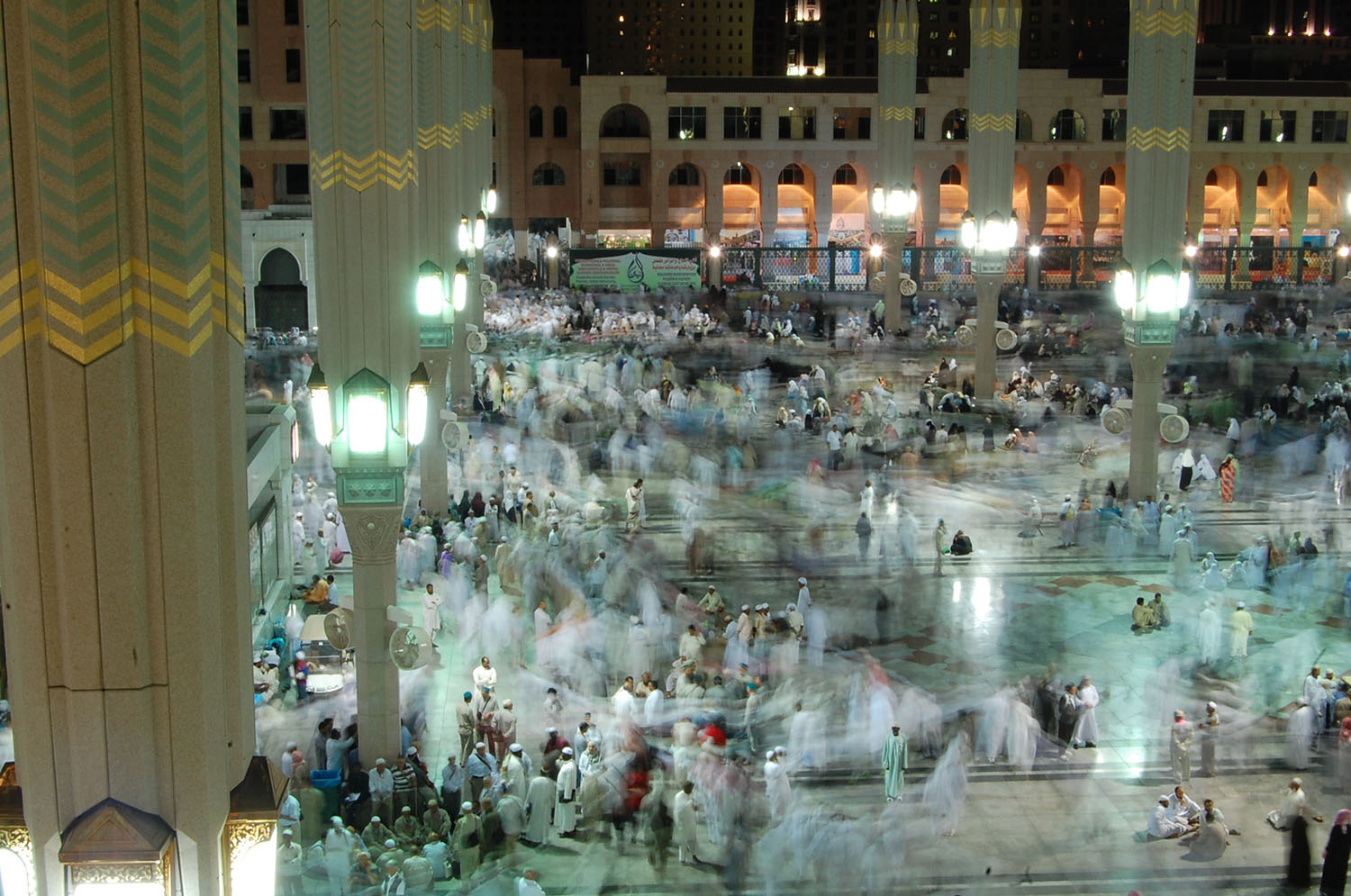 As the time for Hajj draws closer, the crowds in Madinah grow exponentially.